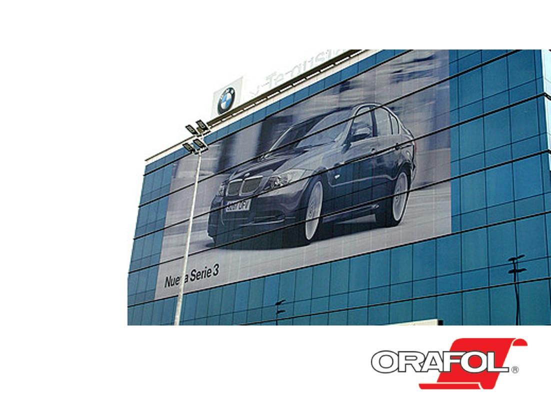 Orajet 3676 Window Graphics Film