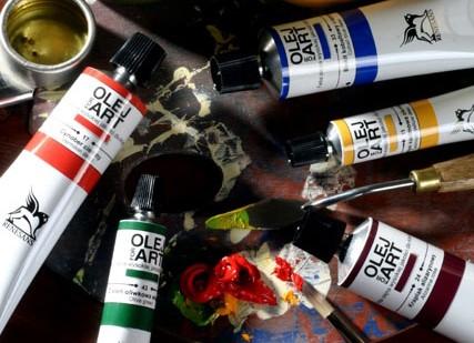 Renesans Olej for Art - navadni odtenki