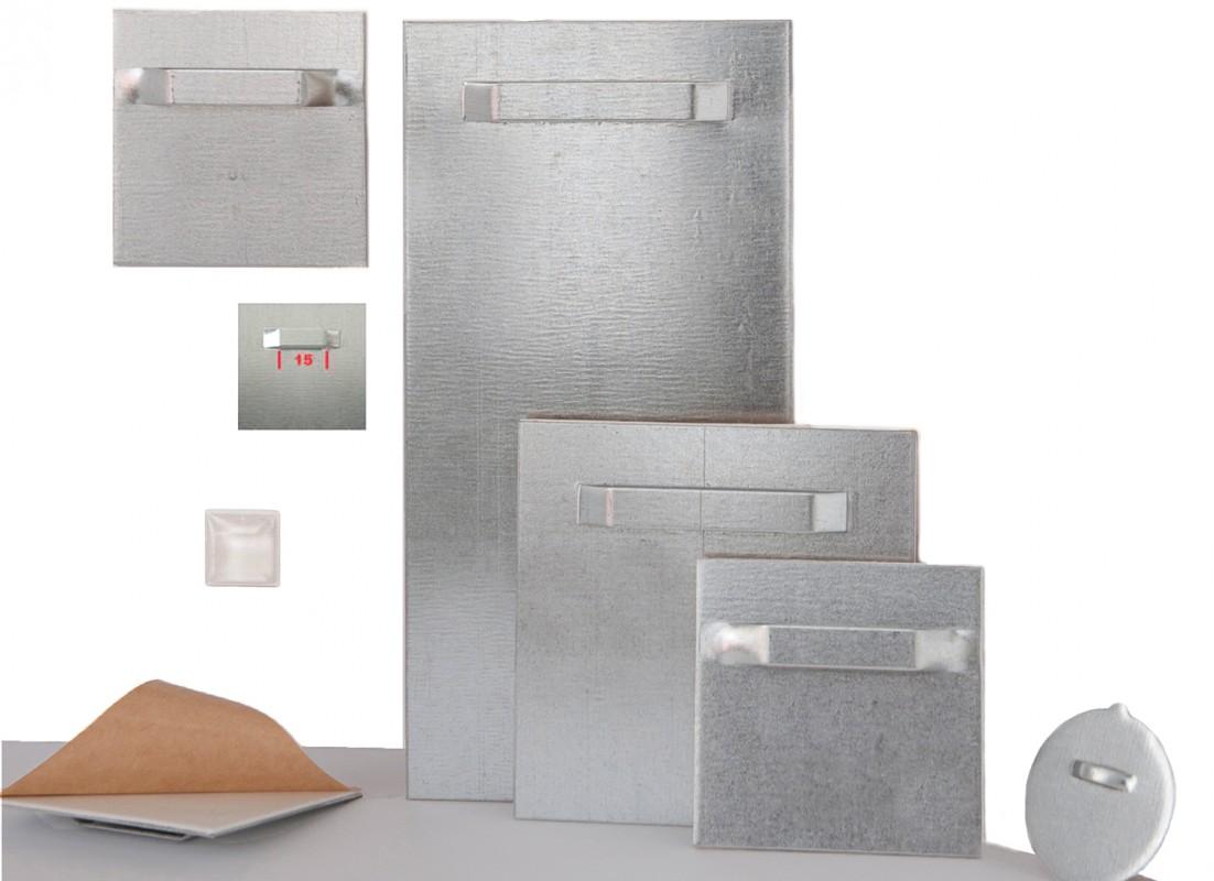 Samolepilna kovinska obešala za aluminijaste plošče