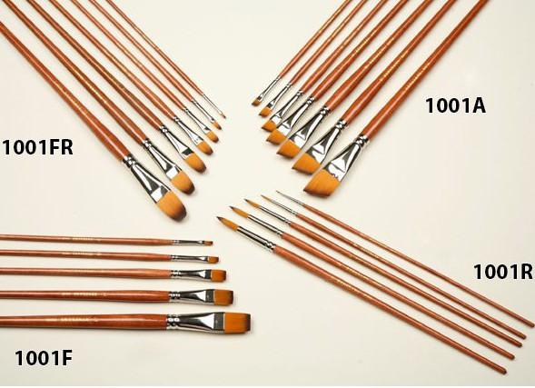 Čopiči serije J1001 - sintetični
