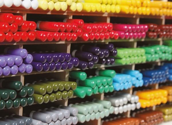 Akverelni svinčniki v kompletu 12 barvic in čopič