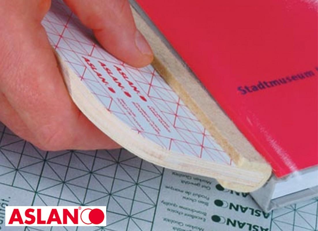 Trda PVC samolepilna folija za zaščito platnic Aslan H200