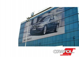 Orajet 3676 Window Graphics Film