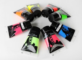 Renesans Akryl Satin fluorescentni odtenki (7 barv)