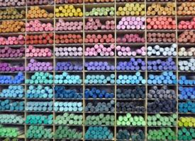 Suhi pasteli (119 barv)