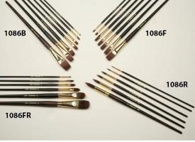 Čopiči serije J1086 - sintetični