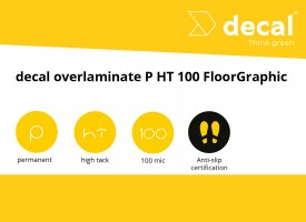 decal overlaminate P HT 100 FloorGraphic R9