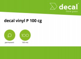 decal vinyl P 100 BO wm