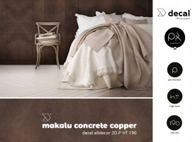 decal alldecor 2D P HT 190 Makalu Concrete Copper