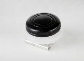 Plastična posodica - enojna s pokrovom, za shranjevanje barve