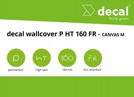 decal wallcover P HT 160 FR - Canvas M