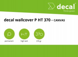 decal wallcover P HT 370 - Canvas