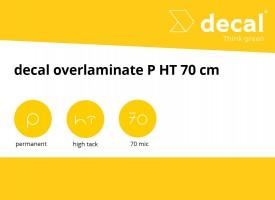 decal overlaminate P HT 70 cm